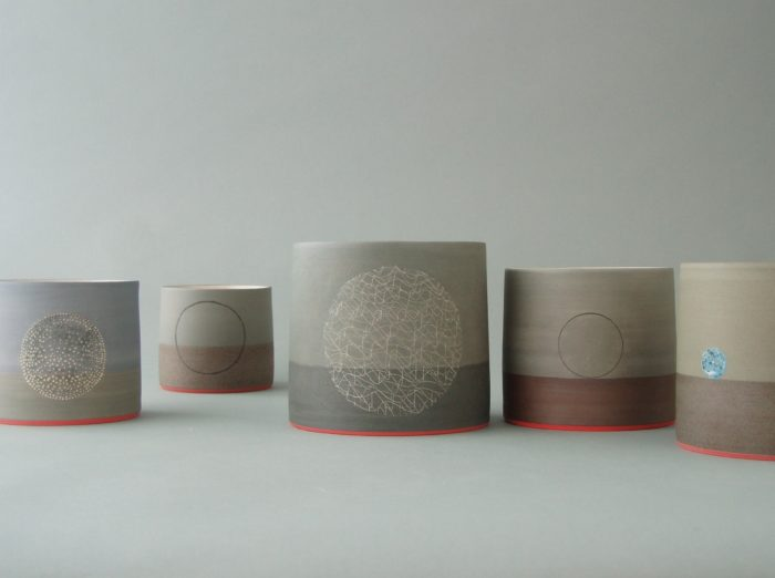 james & tilla waters cylindrical forms