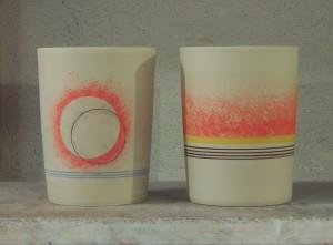decorated beakers 1