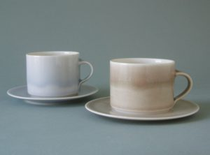 ice and smog teacups and saucers