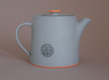 back of teapot
