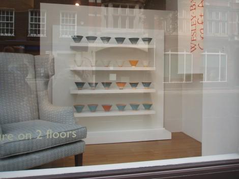 Wesley-Barrell window display